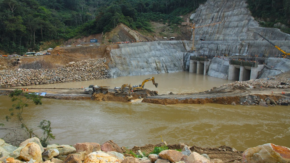 Sogamoso hydroelectric project - Colombia