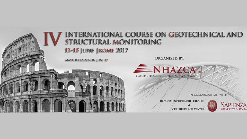 IV International Course on Geotechnical and Structural Monitoring