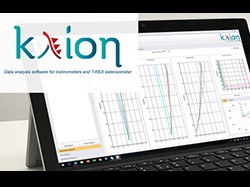 KLION software for inclinometers and T-Rex extensometer