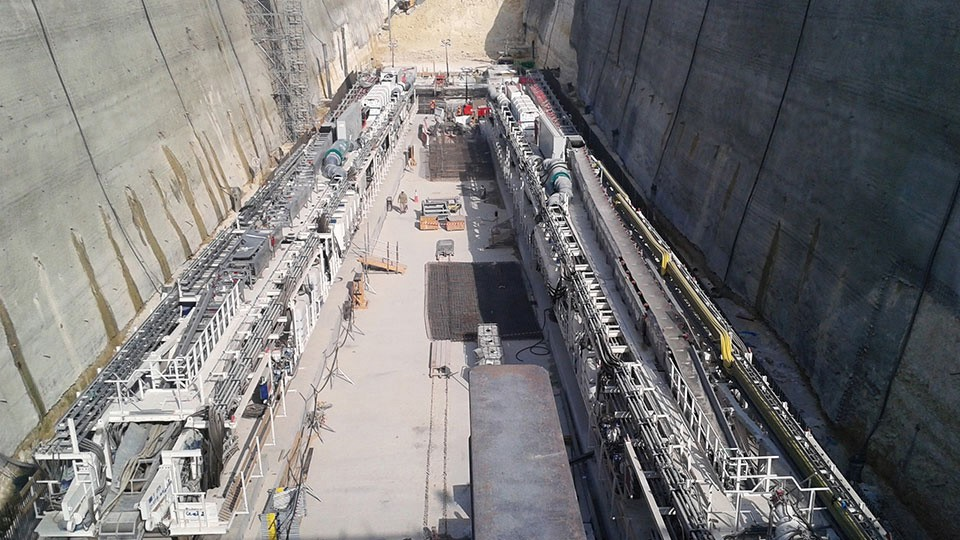 Doha Metro - Green Line - Settlement monitoring with MPBX - Qatar
