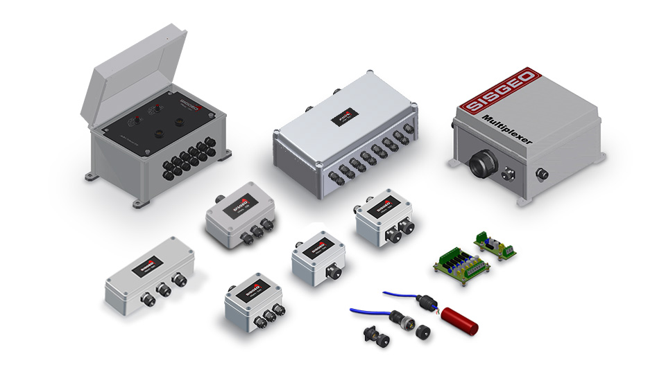 Junction Boxes and Accessories - Sisgeo