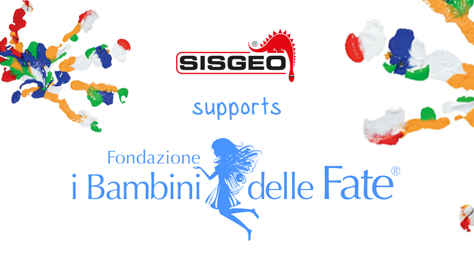 "SISGEO confirms its commitment to support the Foundation ""Bambini delle Fate"""