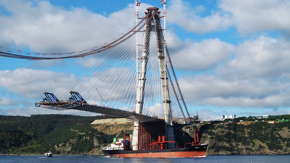 Third Bosphorus bridge - foundation monitoring works - Turkey - Sisgeo