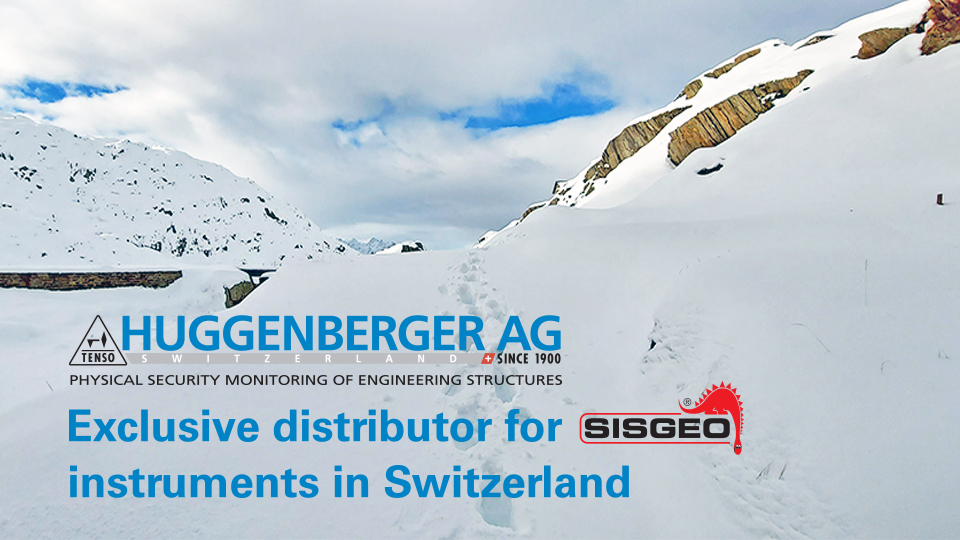 Huggenberger become Exclusive Distributor for SISGEO in Switzerland