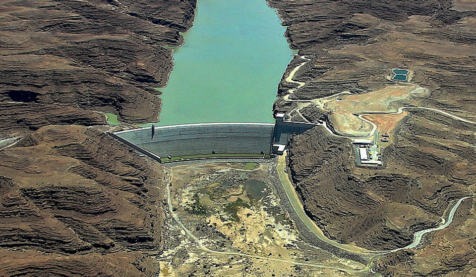 SISGEO Group is proud to have been part of the Neckartal Dam project in Namibia