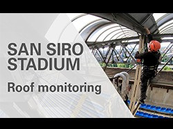 San Siro Stadium – Politecnico di Milano and Sisgeo roof monitoring