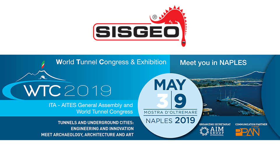 Sisgeo is waiting for you at WTC in Naples, Italy